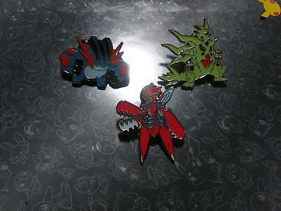 Pokemon tcg collectable pins lot #1