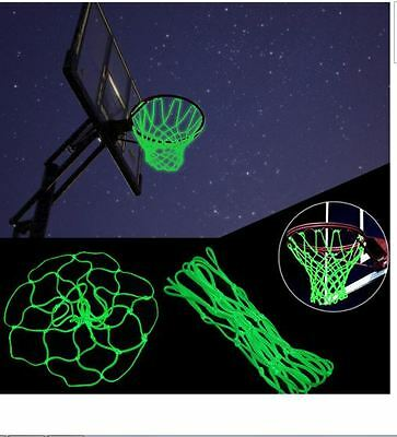 Glow In The Dark Outdoor Sports Nylon Basketball Hoop Net Shoot Training For Kid