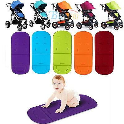 Baby Baby-buggy Stroller Pushchair Seat Liner Cushion Mat Unique Slits Design GW