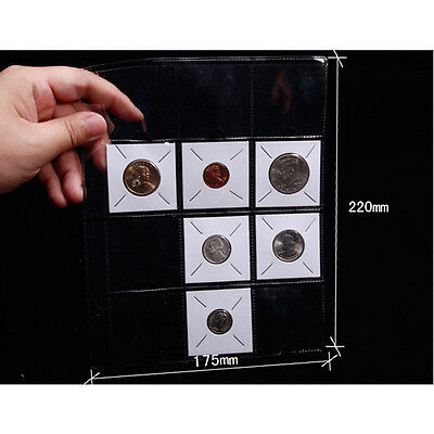 10 x Coin Holder Flips 12 Pocket Album Pages Conventional Size Exclusive Sales