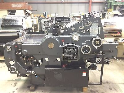 Printing press 1973 Heidelberg Kord 64