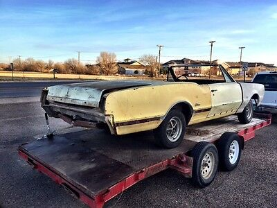 1966 Oldsmobile 442 Convertible 1966 Oldsmobile Cutlass Convertible LOT Additional parts see video