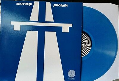 Kraftwerk - Autobahn - Limited Blue Vinyl LP - Vertigo Swirl Label - New/Mint