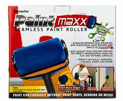 New Paint Maxx Roller Drip Splatter Spill Proof Home