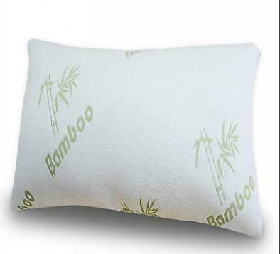 SIZE  65 cm x 45cm BAMBOO COVERED MEMORY FOAM PILLOW - FREE SHIPPING - AUSTRALIA