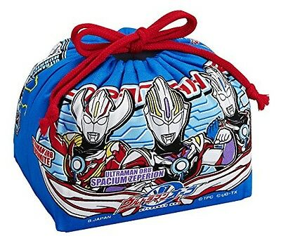 NEW Ultraman orb purse lunch bag 100% cotton Made in Japan KB-1 OSK From JAPAN