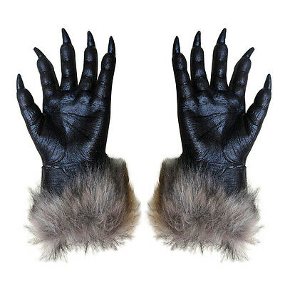 1 Pair Wolf Gloves Halloween Mask animal mask set werewolf Masquerade Wolf T3T5