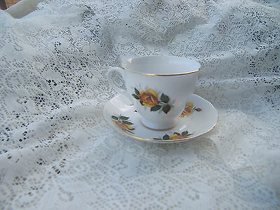 Vintage Queen Anne Cup And Saucer