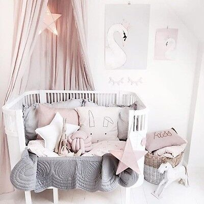 2017 Girl Room Mosquito Net Round Dome Princess Bed Net Childrens Room Decorate