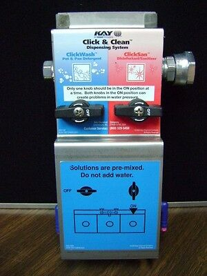 Click & Clean EcoLab - Kay Dispensing System (hoses not included) 9222-3830