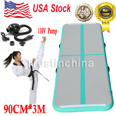 Air Track Floor Home Gymnastics Tumbling Mat Inflatable Air Tumbling Track GYM G