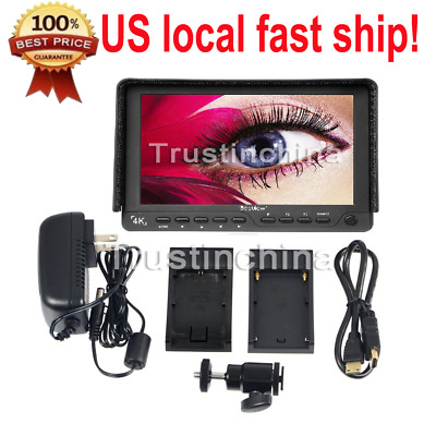 """Bestview S7 7"""" 4K 1920x1200 HDMI HD Camera LCD Monitor for DSLR Video USA"""
