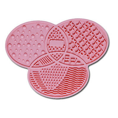 Makeup Brush Cleaner Pad Cosmetic Brush Cleaning Mat Portable Washing Tool