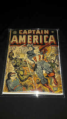 Captain America Comics #17 - Marvel/Timely - August 1942 - 1st Print - Complete