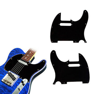 Guitar 3 Ply 8Hole TL Style Pick Guard Scratch Cover Plate Fit Telecaster Guitar