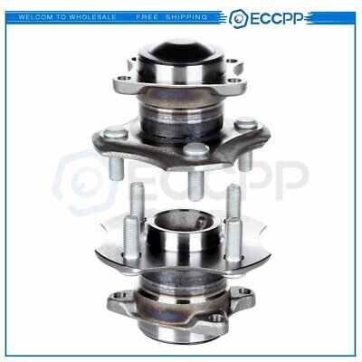 Pair Of 2 New Rear Wheel Hub Bearing Assembly For 2000-2005 Toyota Echo W/O ABS