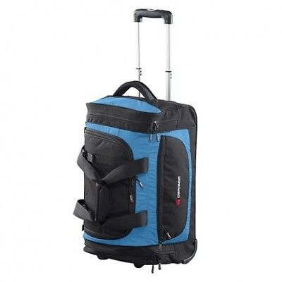 NEW Caribee Technic  Roller 55Cm Blue - in BLUE - 55CM -  Suitcases