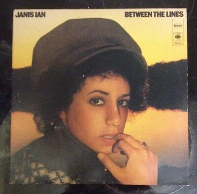 Janis Ian LP Record Between The Lines 1st Pressing