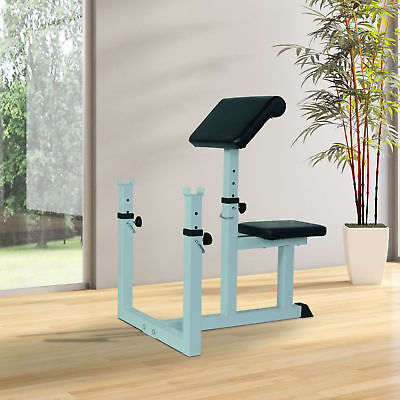 Soozier Roman Chair Hypertension Weight Bench Fitness Barbell Workout Preacher