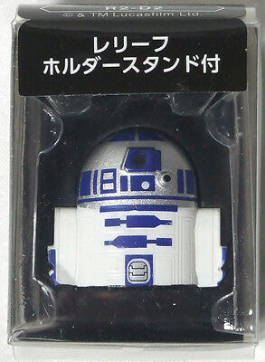 """Schick Japan STAR WARS """" R2-D2 """" Relief shaver holder stand [Not for sale] F/S"""