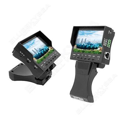 """4.3"""" Audio/UTP/Video Security CCTV Camera Tester 500mA RJ45 Cable Test Monitor"""