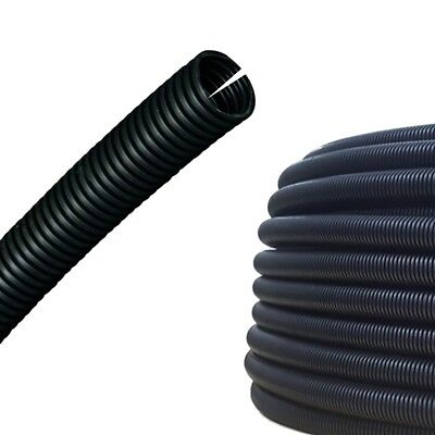 AUPROTEC Corrugated Tube 14mm Slit Wire Loom Conduit M16 Cable Sleeve 5-50m