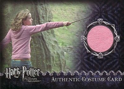 Harry Potter Prisoner of Azkaban Update Hermione's Pink Top Costume Card