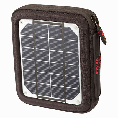 Voltaic AMP 4W Solar Charger Wallet - Portable Solar Battery Charger