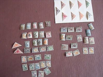 Nyassa Company Collection, 57 Stamps, Vg Cond