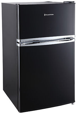 Russell Hobbs RHUCFF50B 50cm Wide Black Under Counter Fridge Freezer + Warranty