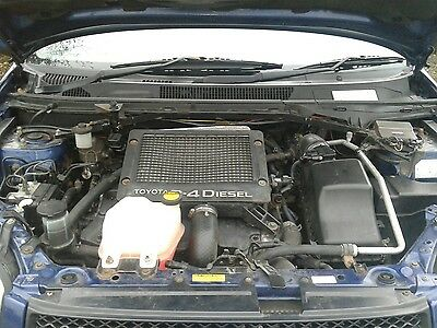 Toyota Rav4 2.0 D4D Diesel Engine Low Miles Complete 2001-2005 With Warranty