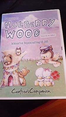 crafters companion mulberry wood cd rom