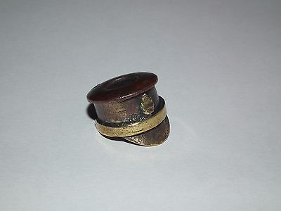 WW1, WWI Trench art: Russian Soldier cap (522-0117)