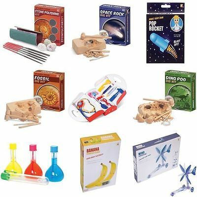 Children Educational Toy Science Experience Kit Explorer Space Spy