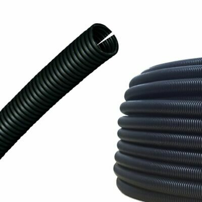 AUPROTEC Corrugated Tube 7.5mm Slit Wire Loom Conduit M10 Cable Sleeve 5-50m