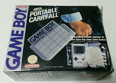 Nintendo Game Boy Carry Case Portable Carry-All By Ascii