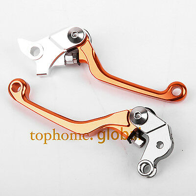 For KTM 65XC 2004-2011 / 85SX 105SX 2003-2011 Pivot Clutch Brake Levers 10 09