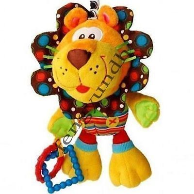 baby! toy playgro cute lion multi-touch multi-purpose rattl