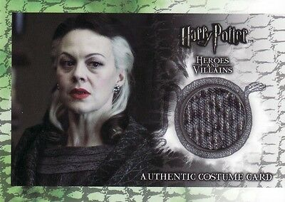 Harry Potter Heroes & Villains Narcissa Malfoy's C4 Costume Card