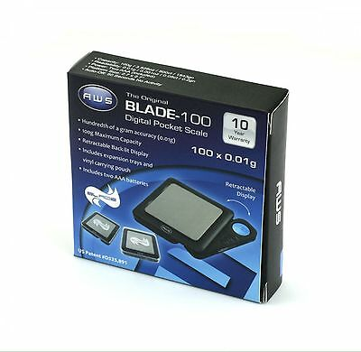 American Weigh Scales Blade Digital Pocket Scale BL-100; 100 by 0.01g