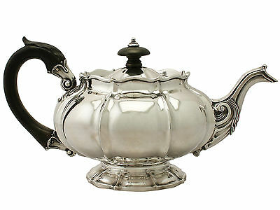 Sterling Silver Teapot - Antique George IV
