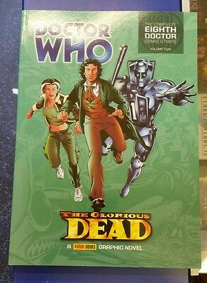 Doctor Who: the Glorious Dead - Eighth Doctor Comic Strips Vol 2 Paperback