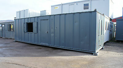 30'x8' Antivandal Containerised Cabin Canteen Office