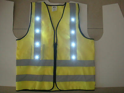 FLARE 16 LED Vest for Cycling Riding and Running at Night