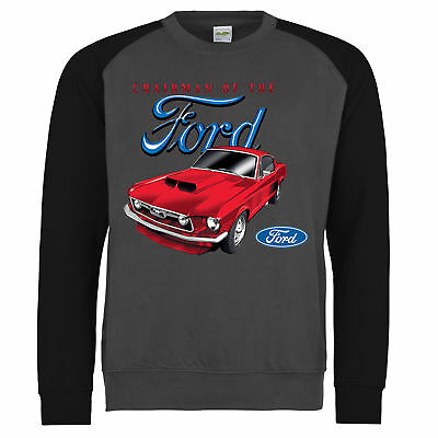 Ford Mustang Sweatshirt Boss 302 Shelby GT Genuine American Classic Car Clothing