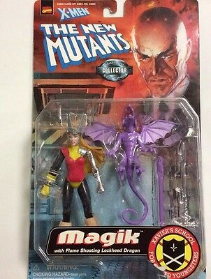 X-Men The New Mutants Magik Toy Biz Marvel Comics Action Figure 1998
