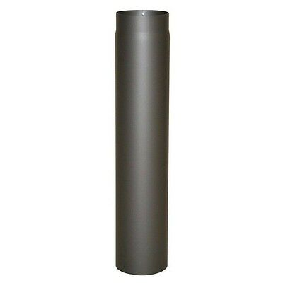 Kamino Flam Senotherm Stove Pipe Flue ø 150mm x 750 mm Wall 2 grey cast iron