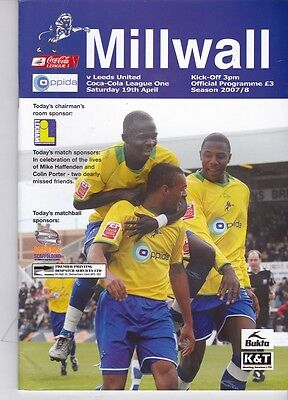Millwall v Leeds United (Coca-Cola League 1) 19.04.2008