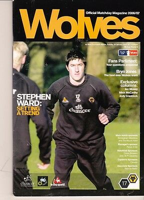 Wolverhampton Wanders v West Bromwich Albion (FA Cup) 28.01.2007