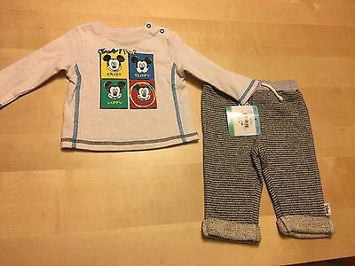 Disney Baby 2 Piece Set, Shirt And Pants, 0-3 Months, Retail $34, NWT!